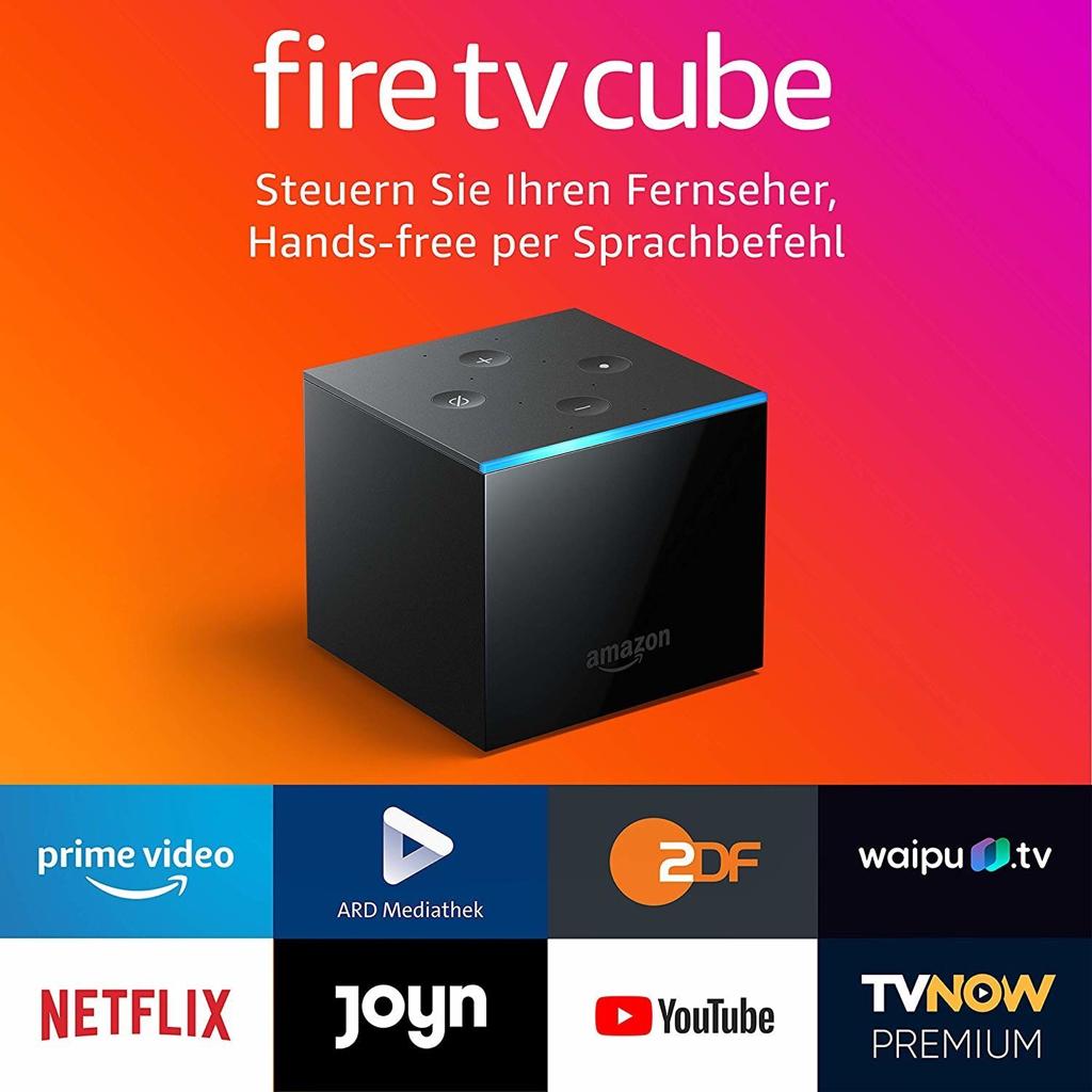 amazon fire tv cube 4k media player fuer 79e statt 90e