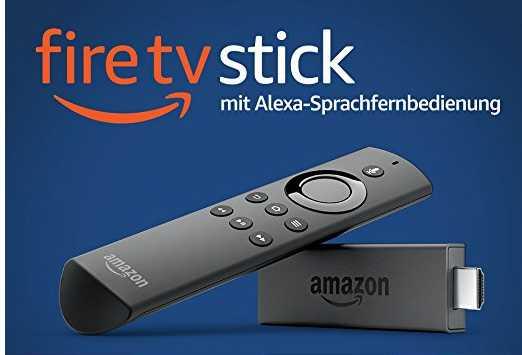 amazon fire tv stick mit alexa sprachfernbedienung fuer 2999e statt 3999e