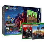 Xbox One S 1TB + Minecraft + Wolfenstein II + PlayerUnknown's Battlegrounds
