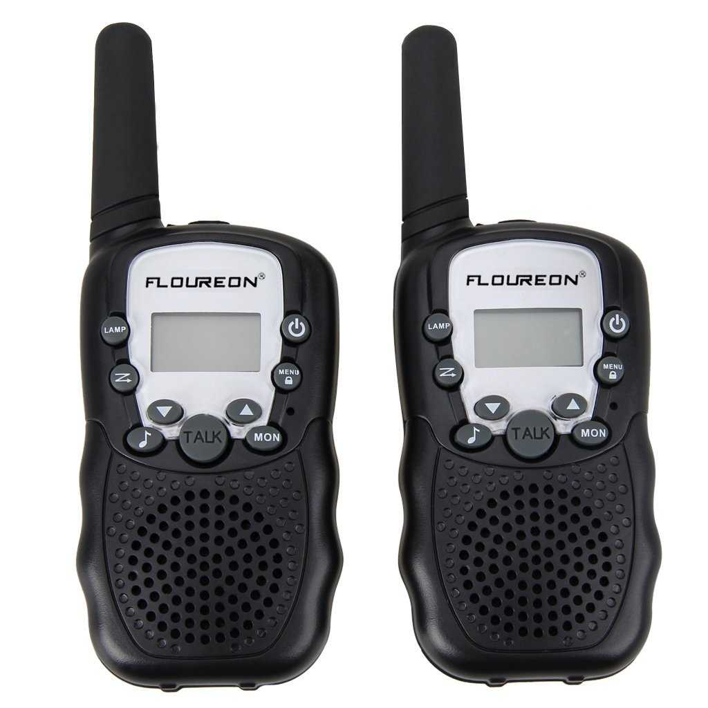 amazon pmr funkgeraet walkie talkies 8 kanaele walki talki funkhandy interphone mit lc display schwarz 999 euro