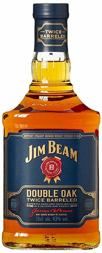 amazon prime jim beam double oak bourbon whiskey 1 x 0 7 l mytopdeals. Black Bedroom Furniture Sets. Home Design Ideas
