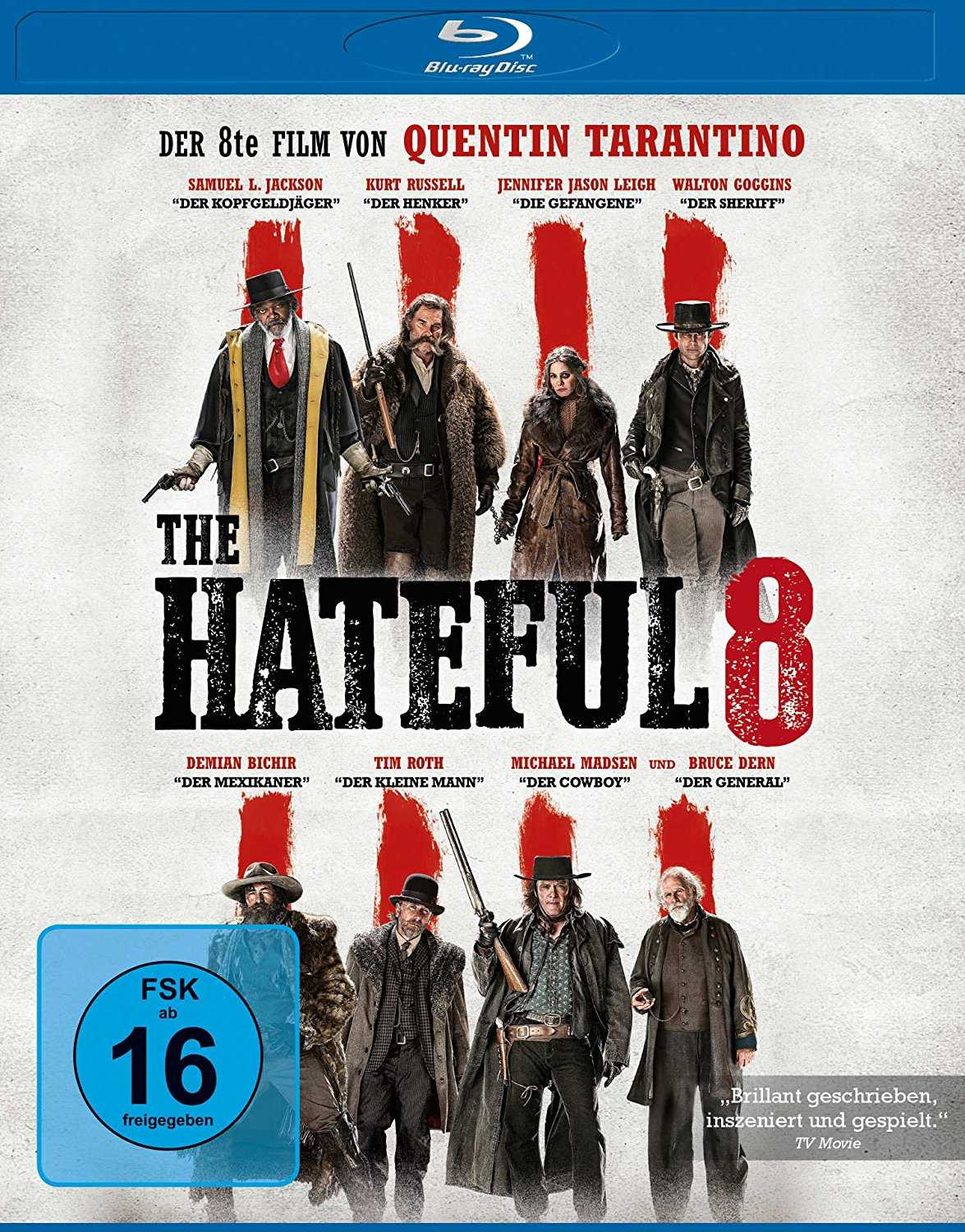 amazon prime the hateful 8 blu ray quentin tarantino