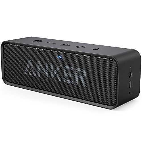 anker soundcore bluetooth 4 0 lautsprecher 24 stunden akkulaufzeit eingebautes mikrofon bei amazon