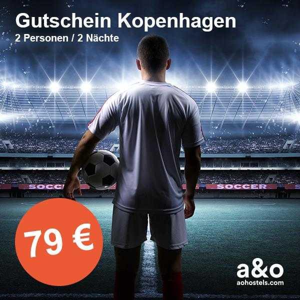 ao hotel gutschein fussball weltmeisterschaft 2018 kopenhagen inkl fruehstueck 2 naechte2 personen fuer 79 e