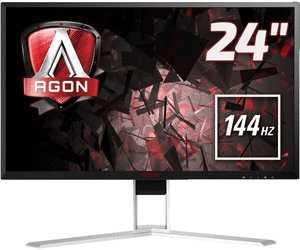 aoc agon ag241qx 238 zoll monitor mit 144hz 1ms und freesync fuer 269e statt 34205e