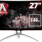 AOC AGON AG272FCX (27 Zoll) Curved Gaming-Monitor