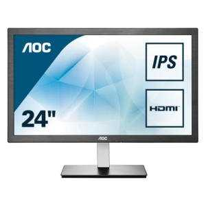 aoc i2476vxm 238 zoll monitor led ips panel full hd mhl hdmi fuer 99e statt 14179e