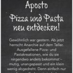 Aposto - Gratis Essen