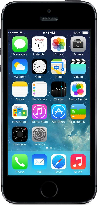 apple iphone 5s smartphone 4 zoll 32 gb speicher ios 7 spacegrau amazon fuer 19995 e statt 269 e