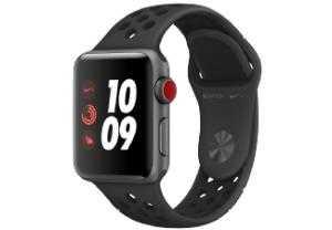 apple watch series 3 nike gps cellular fuer 374e statt 42655e