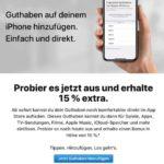 Apple Appstore: 15% zusätzliches Guthaben bei Aufladung