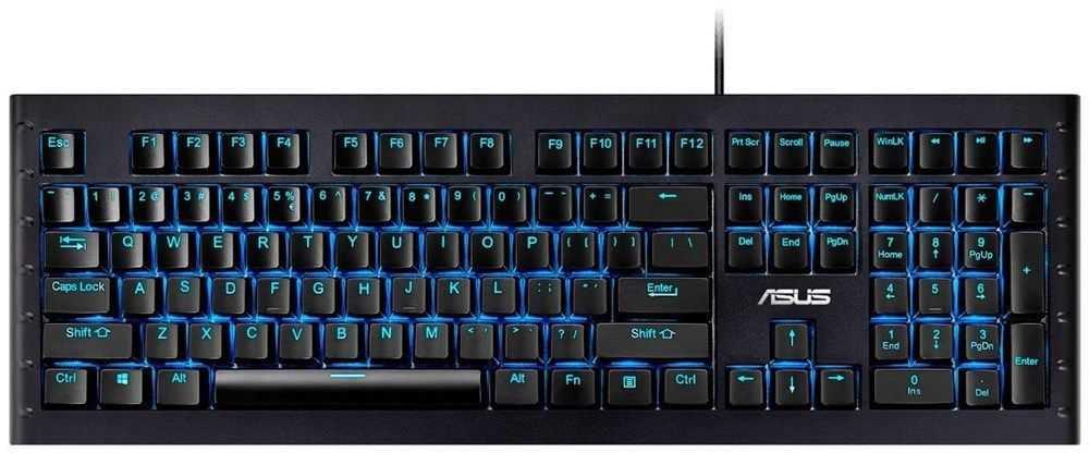 asus sagaris gk1100 mechanical gaming keyboard fuer 5810e inkl versand statt 72e