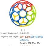 BABY-Spielzeug-Klassiker bei Amazon: OBALL classic für nur 3,50€