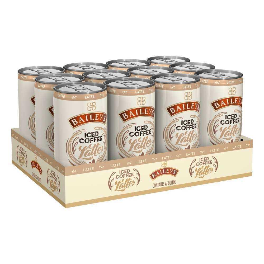 baileys iced coffee latte 12er kaffee mischgetraenk 4 vol inkl euro 3 dpg pfand