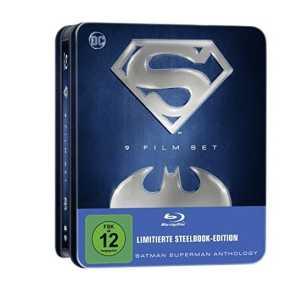 batman superman anthology 9 filme blu ray set fuer 2564e statt 3999e