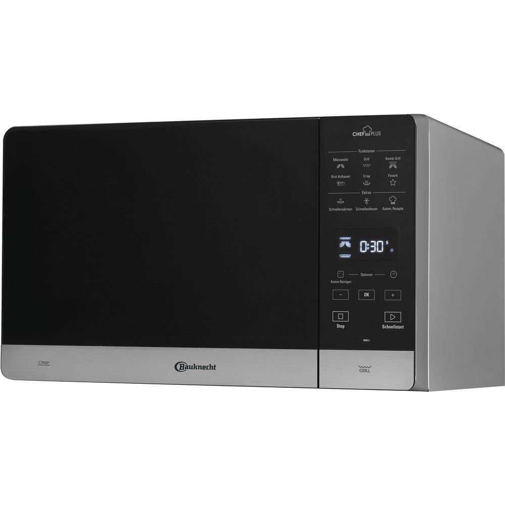 bauknecht mw 45 sl mikrowellen 0 1kwhjahr 1750 0watt 25 0 l auftaufunktion aufwaermfunktion bei amazon