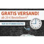 digitalo: Gratis-Versand für 48 Stunden ab 29€ MBW