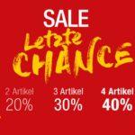 Galeria Kaufhof: Sale-Artikel kombinieren und bis zu 40% sparen