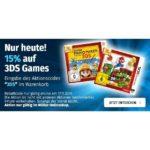 Müller.de: 15% Rabatt auf alle Nintendo 3DS Games