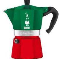 bialetti 5323 moka express mondo italia espressokocher gruenrot fuer 39e statt 4899e
