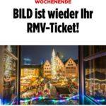 7. & 8.12.: Gratis fahren im RMV-Gebiet mit Bahn und ÖPNV