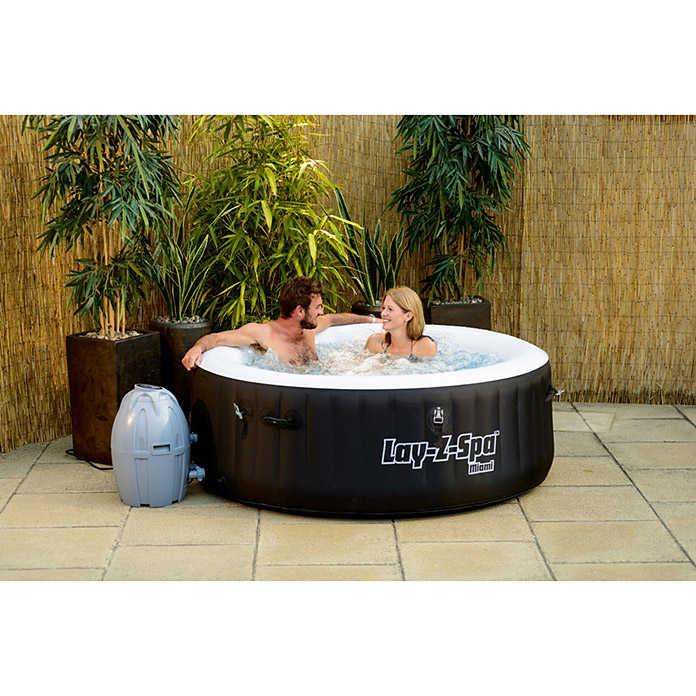 blubb bestway whirlpool lay z spa miami nur 279 bei abholung