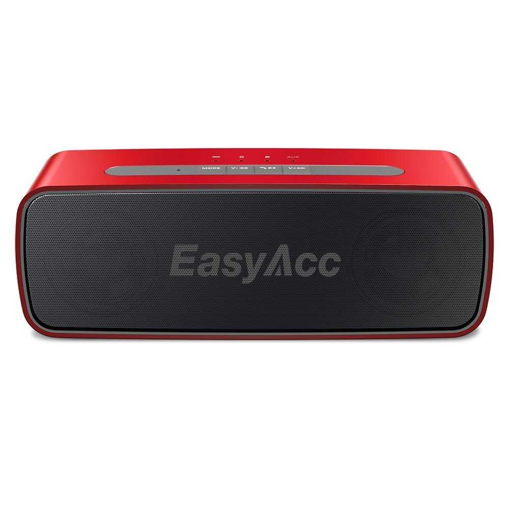 bluetooth lautsprecher easyacc soundx 10w csr 4 0 speaker mit mikrofon 3 5mm aux micro sd karte slot bei amazon