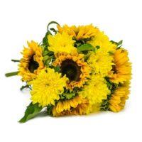 blume ideal blumenstrauss sunshine love 2098e inkl versand