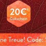 brands4friends: 20€ Gutschein auf einen Einkauf ab 80€