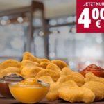 Burger King App: 20 King Nuggets für 4€ (inkl. 3 Dips)