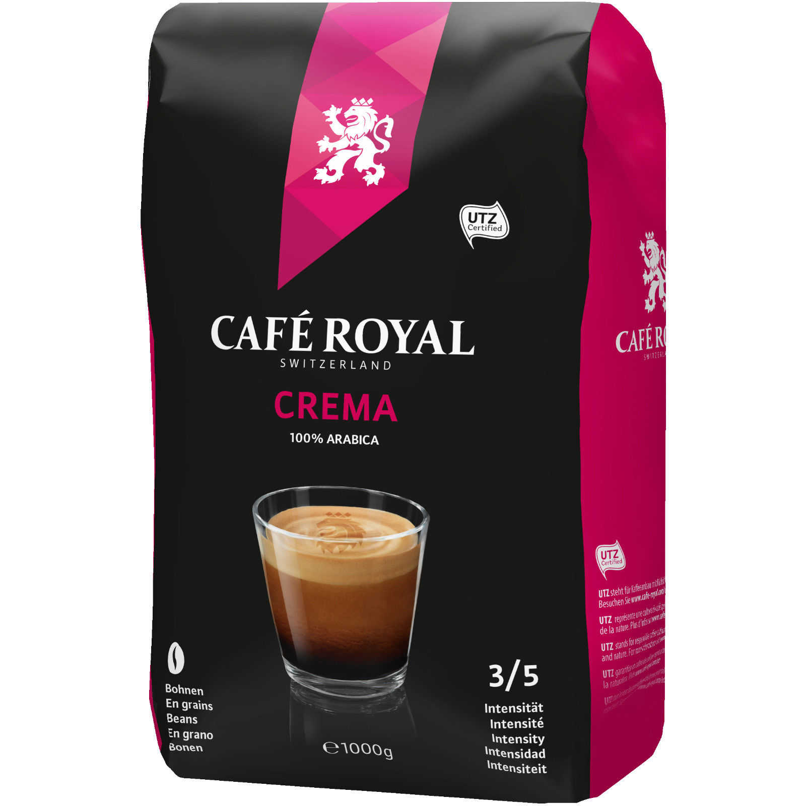 caf royal crema bohnenkaffee 1kg fuer 777e inkl versand statt 1396e