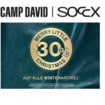 Camp David & Soccx: Jetzt 30% Rabatt auf Winterartikel!