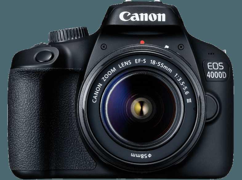 canon eos 4000d kit 18 55mm iii saturn fuer 279 e statt