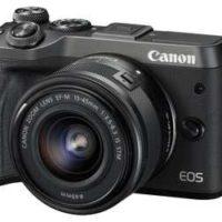 canon eos m6 systemkamera mit objektiv fuer 59599e statt 682e