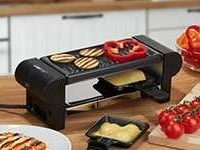clatronic rg 3592 raclette und grill fuer 2 personen fuer 1049e statt 24e plus gratis geschenke