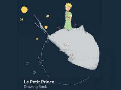 """""""Der kleine Prinz"""" Malbuch für Kinder – kostenlos zum Download"""