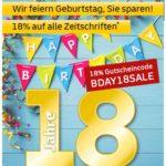 Deutsche Post Leserservice - 18% auf alle Zeitschriften