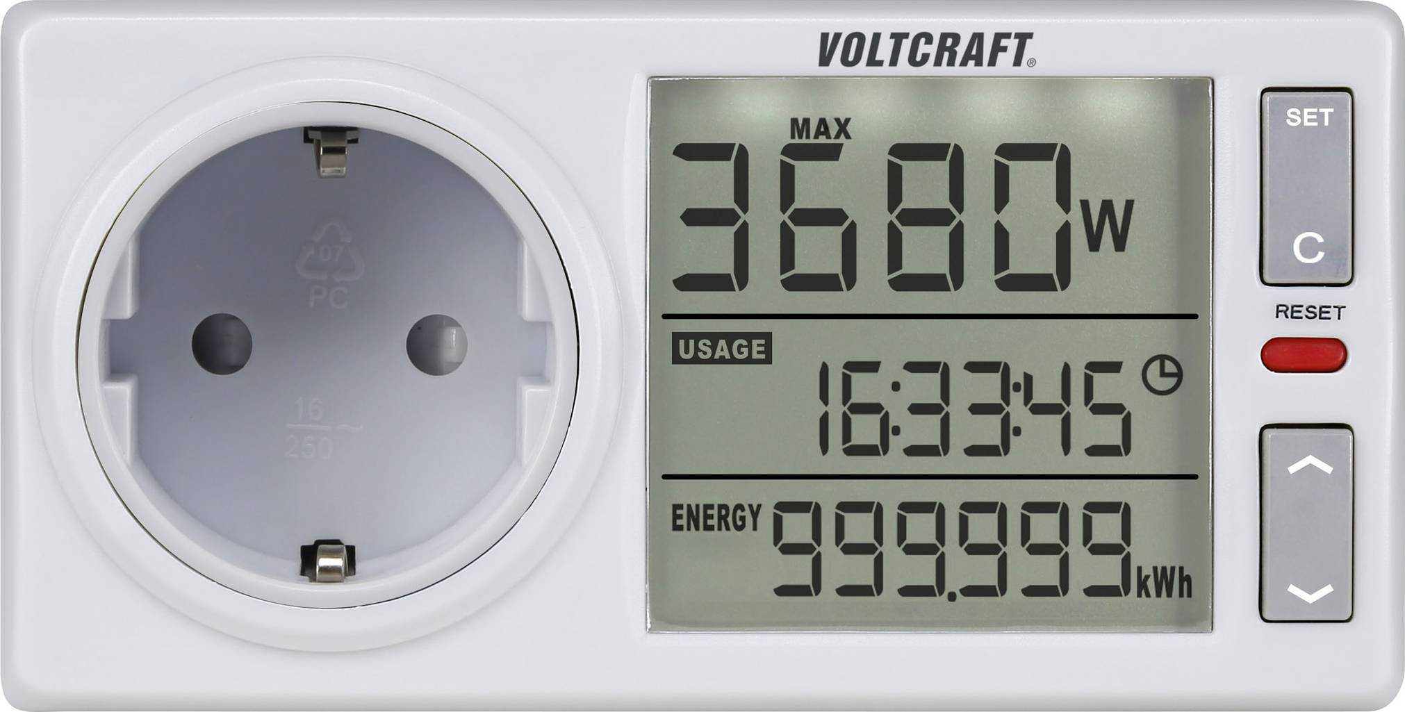 digitalo voltcraft 4500advanced de energiekosten messgeraet fuer 22 e statt 2999 e