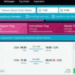 Direktflüge Cancun - Eurowings