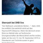 DKB Planeterien und Technikmuseen Freie Eintrittskarten