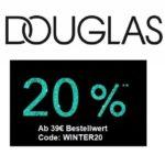 Douglas 20% Rabatt jetzt ab 39€ MBW!