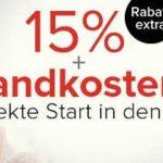Dress for less: Bis zu 60% Rabatt im Sale + 15% Extra Rabatt + Versandkostenfrei!