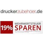 Druckerzubehör: 19% Mehrwersteuer sparen bis zum 25.5.