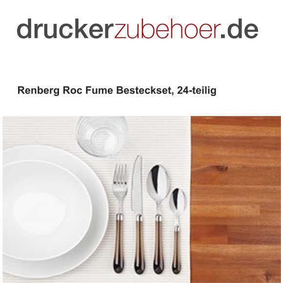 druckerzubehoer renberg roc fume besteckset 24 teilig fuer 896 e inkl versandkosten 2 kostenlose artikel