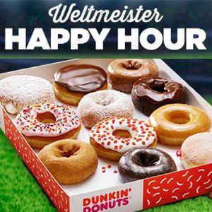 dunkin donuts 6er box donuts kaufen 2te box gratis dazu bekommen