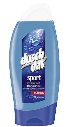 duschdas for men duschgel sport 6er pack 6 x 250 ml fuer 214e statt 450e