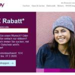 Ebay: 5€ Rabatt bei 10€ Einkauf
