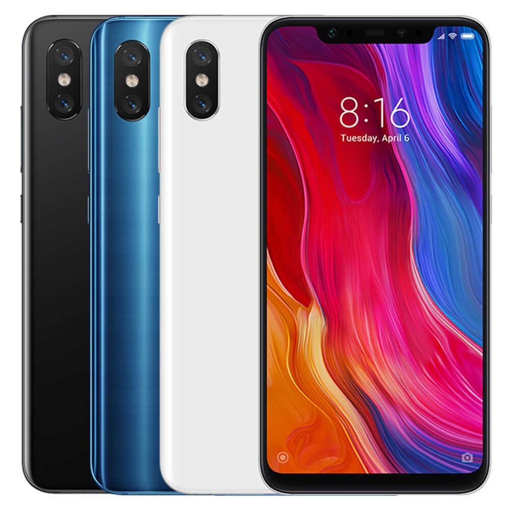 ebay im angebot xiaomi mi 8 mit 6gb 128gb smartphone 621 dual sim 4g mit snapdragon 845 eu version