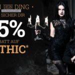 EMP: 15% Rabatt auf Gothic