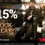 EMP - 15% Rabatt auf Rockwear
